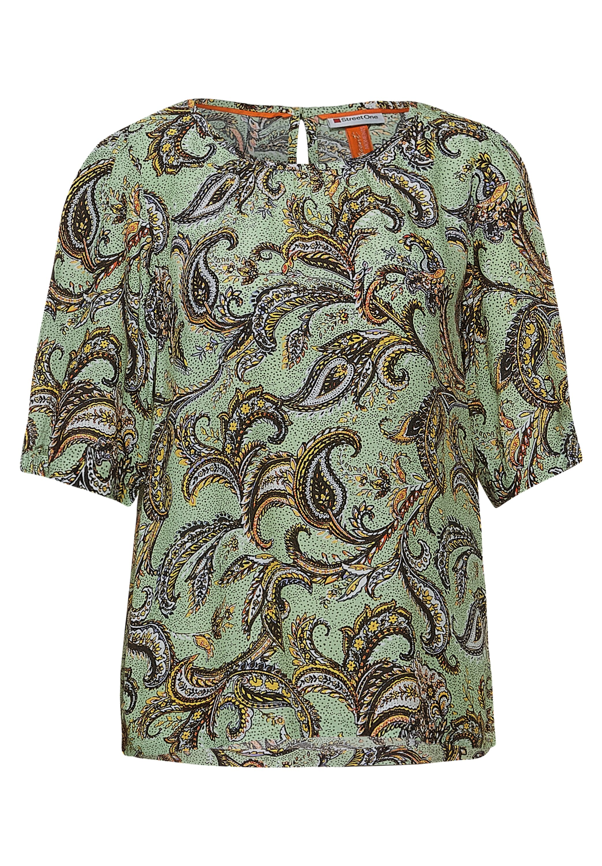 StreetOne Bluse mit Print