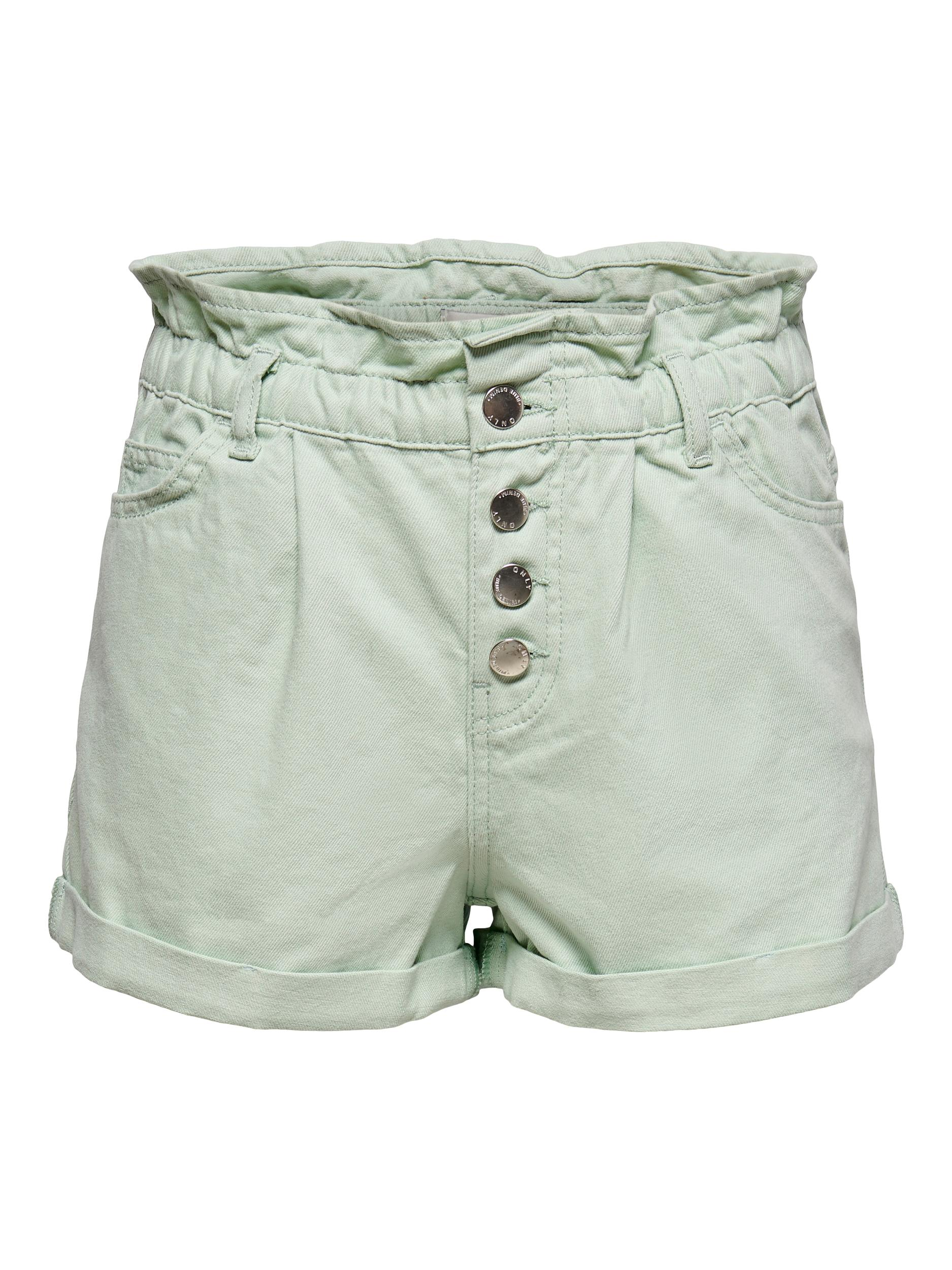 Only ONLCUBA LIFE PAPERBAG COLOR SHORTS