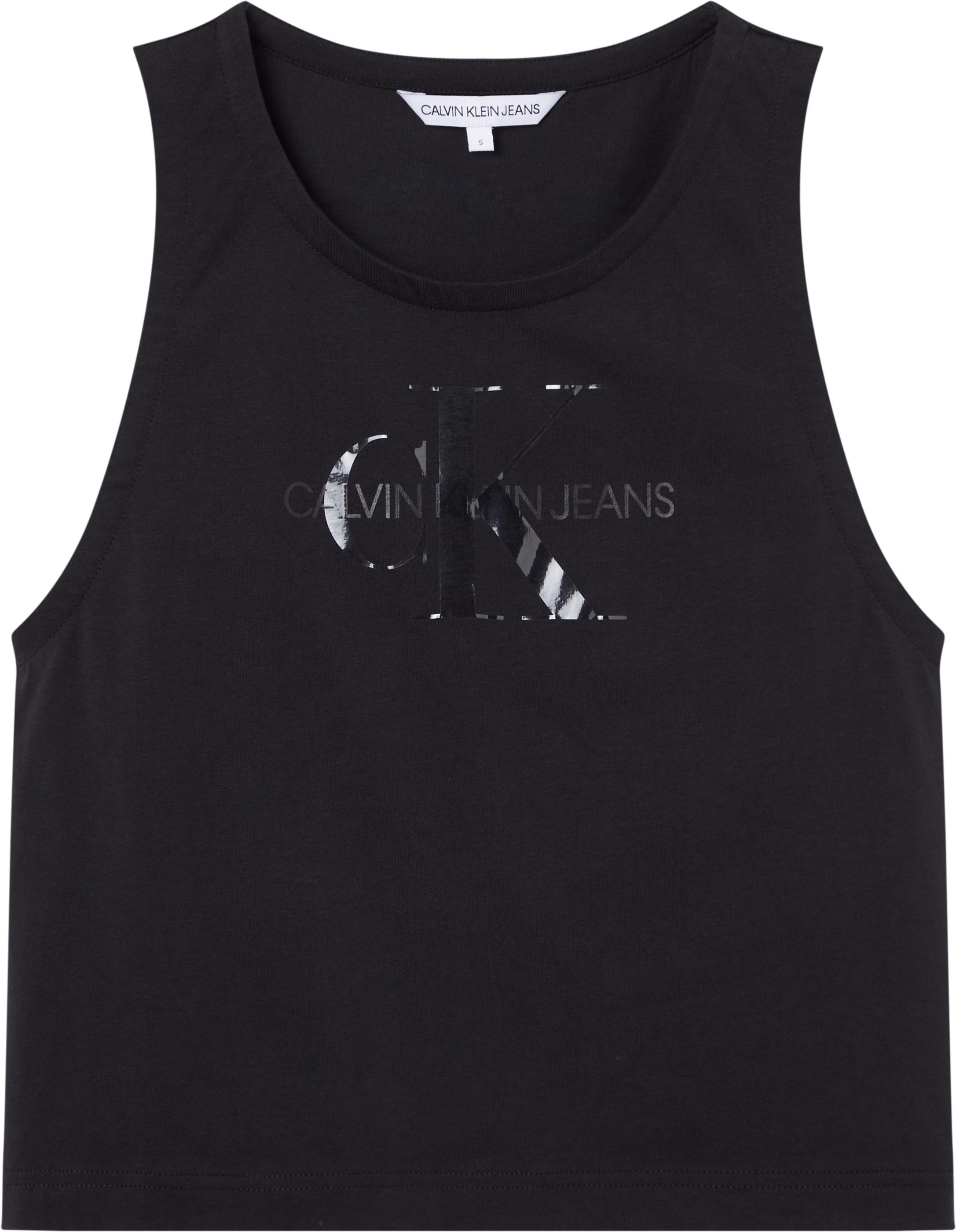 Calvin Klein Jeans TONAL MONOGRAM TANK TOP