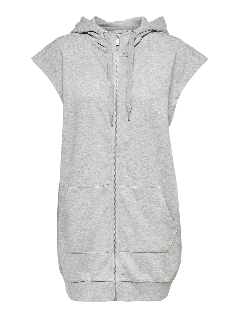 Only ONLIGGY LIFE S/L VEST HOOD SWT