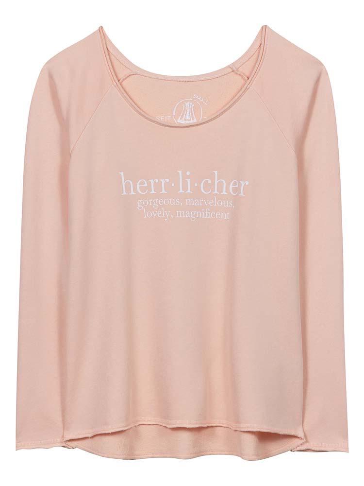 Herrlicher Freyja Sweat Garment Dye