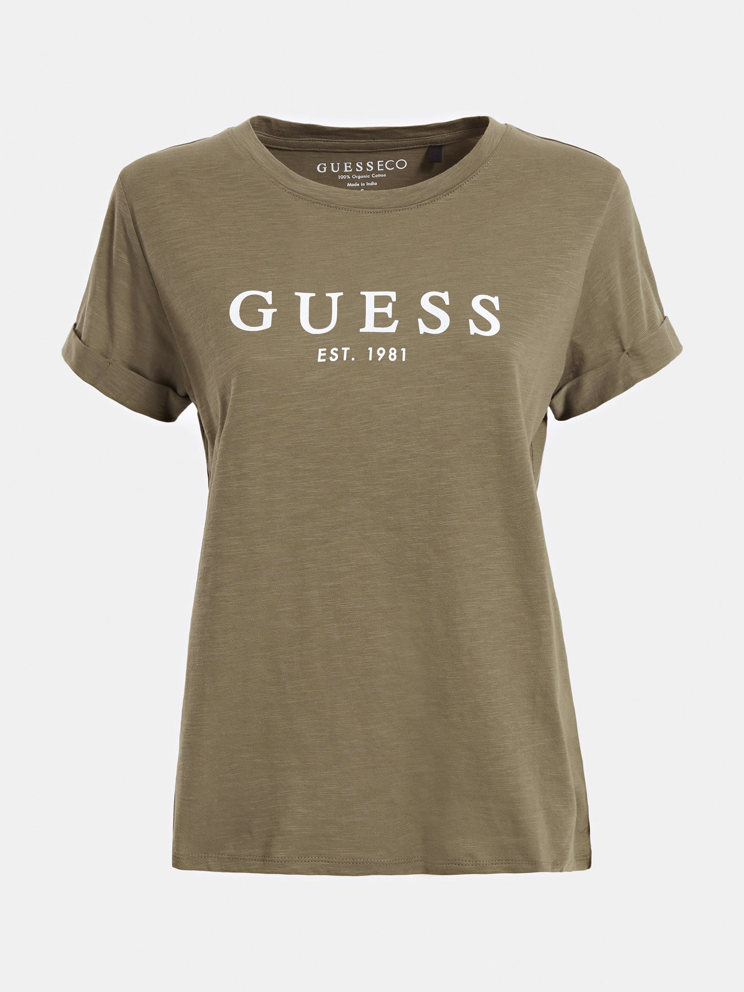 Guess ES SS GUESS 1981 ROLL CUFF TEE
