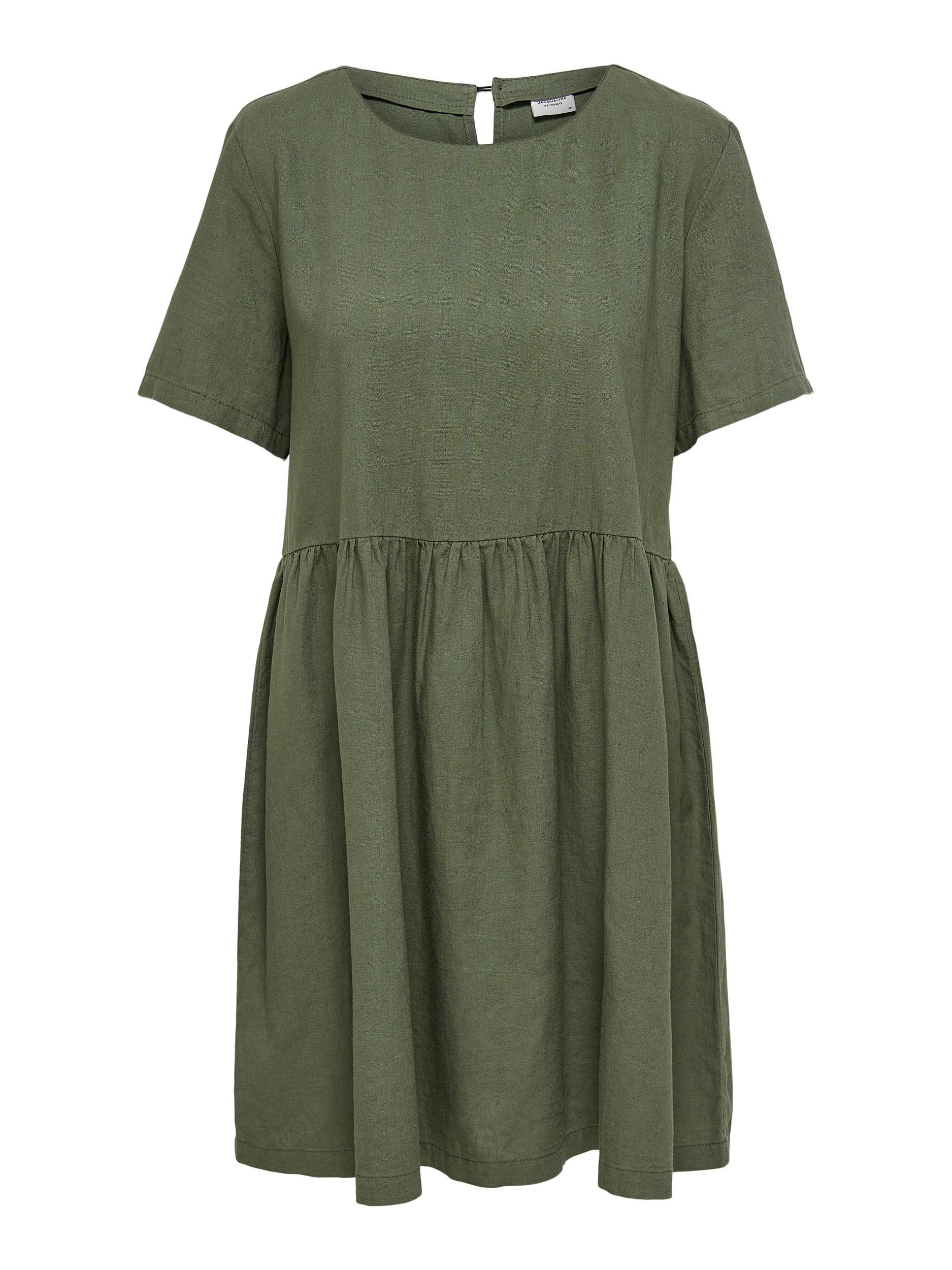Jacqueline de Yong SAY S/S LINEN DRESS WVN