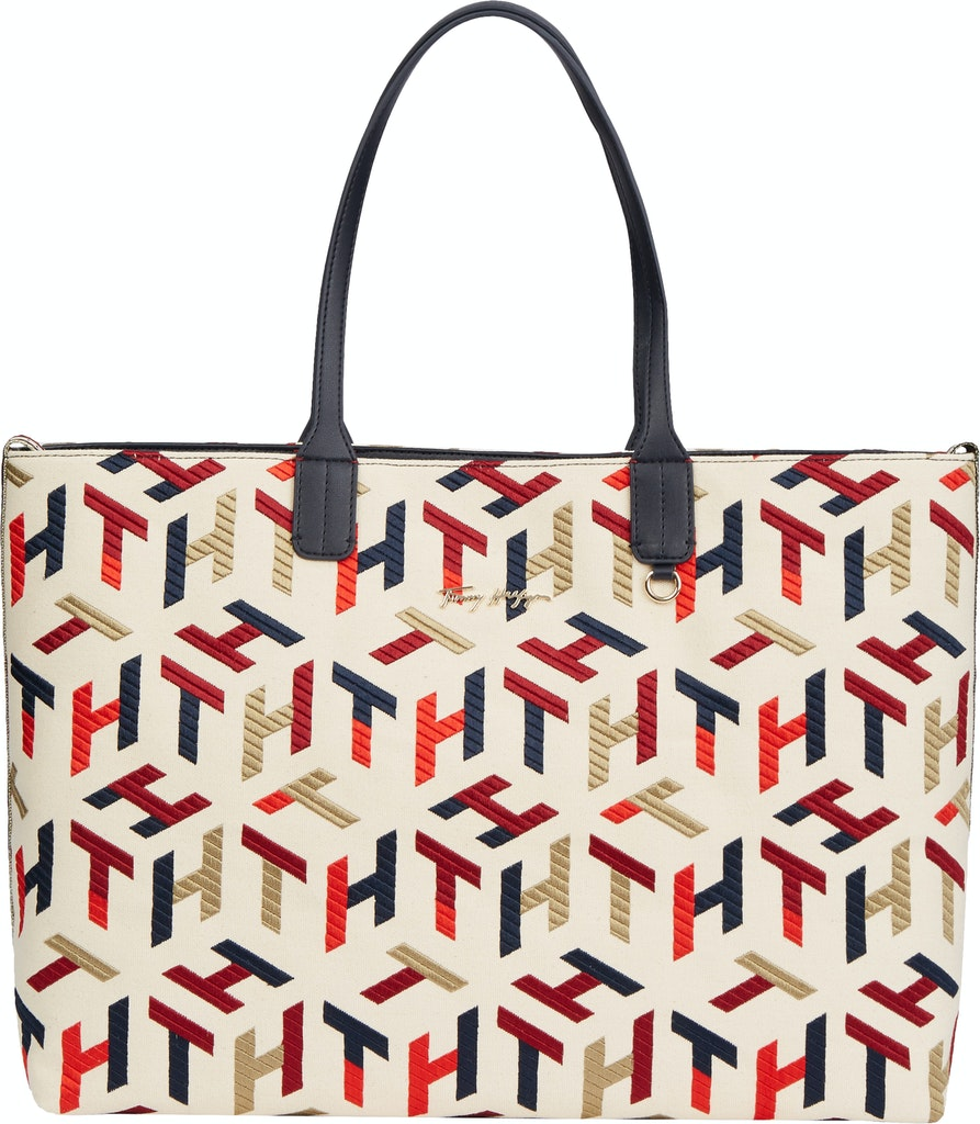 Tommy Hilfiger ICONIC TOMMY TOTE MONO EMBR